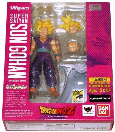 "Bandai Tamashii Nations Super Saiyan Son Gohan Bluefin SDCC 2012 Exclusive Special Color Edition ""Dragonball Z"" - Bandai Tamashii Nations"