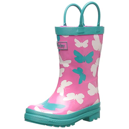 Hatley Big Girls Butterflies Rain Boots