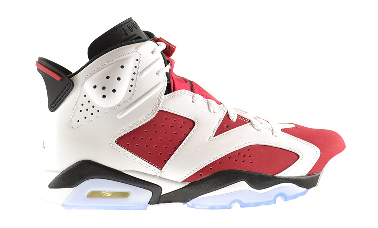 Air Jordan Retro 6 Men\\u0026#39;s Shoes White/Carmine-