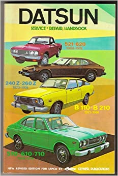 Datsun service-repair handbook: 1200 and B210, 1971-1974