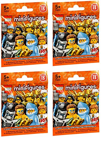 LEGO-Series-15-Minifigures-Random-Pack-of-4-71011
