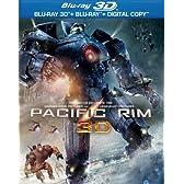 パシフィック・リム 3D & 2D ブルーレイセット (3枚組)(初回数量限定生産) [Blu-ray]
