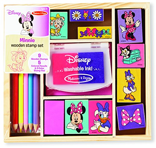 Minnie Wooden Stamp Set
