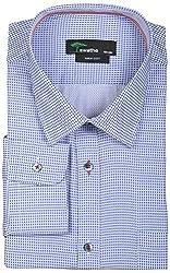 SWATHE Men's Formal Shirt (5989-1-42, Multi-Coloured)