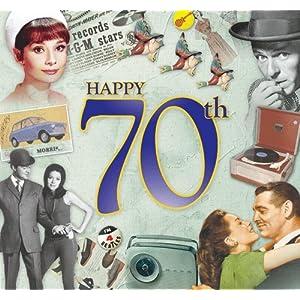 70th Birthday Gifts For Men - Happy 70th Birthday Card