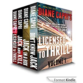 Licensed to Thrill Volume 1:  Four Legal Thrillers: The Hunt for Jack Reacher Series (English Edition)