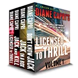 Licensed to Thrill Volume 1:  Four Legal Thrillers: The Hunt for Jack Reacher Series ~ Diane Capri