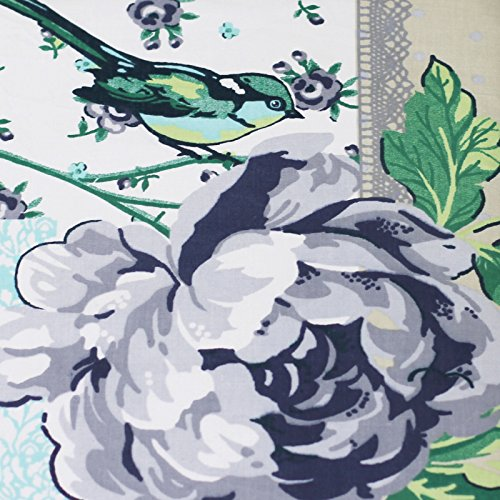 French Patchwork Floral a retales de funda de edredón y de mariposa y tarjetas de