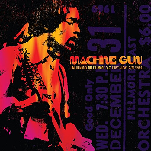 Machine Gun Jimi Hendrix The Filmore East 12/31/1969 (First