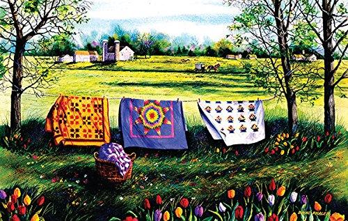 Beautiful Amish spring Jigsaw Puzzle