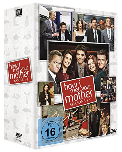 How I met your Mother - Season 1-9 Complete Box [27 DVDs]