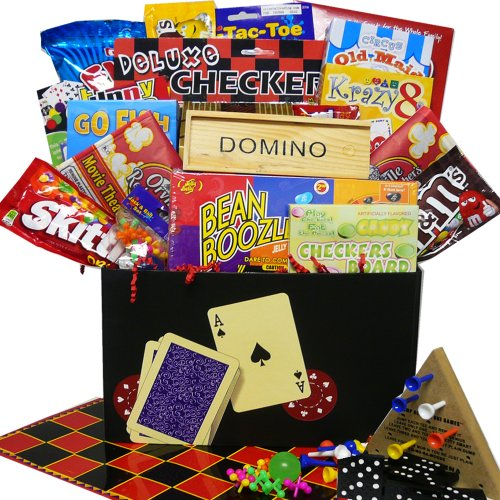 Art of Appreciation Gift Baskets Fun and Games Care Package Gift Box