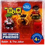 Fisher Price Trio Building System DC Super Friends Figure Robin Joker