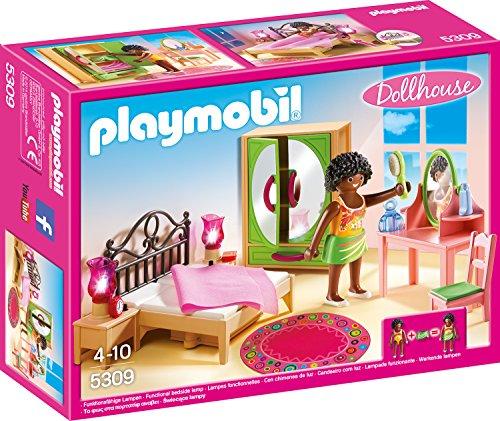 PLAYMOBIL-5309-Schlafzimmer-mit-Schminktischchen