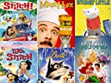 The Little Mermaid, Balto, Lilo & Stitch, Stitch the Movie, Mouse Hunt, Stuart Little