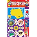 Gallopade Publishing Group Wisconsin Bulletin Board Set (9780635011046)