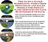 The Guru's Super Marketing, Godfather Principles and Sales Models for Domain Name Services On-line Businesses 3 CD Pack