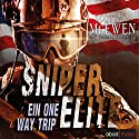 Ein One Way Trip (Sniper Elite 1) Audiobook by Scott McEwen Narrated by Stefan Lehnen