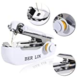 Hello22 Household Mini Portable Hand-held Clothes Fabrics Sewing Machine Sewing Machines
