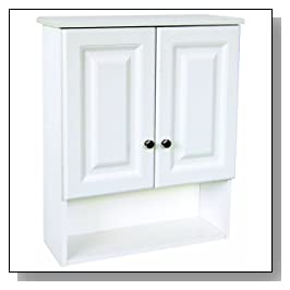 bathroom Wall Cabinet with 2 Doors