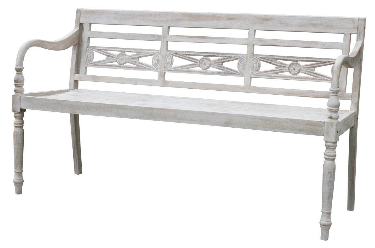 kmh 4 sitzer gartenbank balmoral echt teak 102063. Black Bedroom Furniture Sets. Home Design Ideas