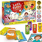 Let's Potty! Potty Training Board Game! No More Diapers, Toilet Train Toddlers Early!