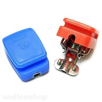 21 mm² Batterie Masseband aus Kupfer mit Polklemme Länge 600 mm bis 80 A