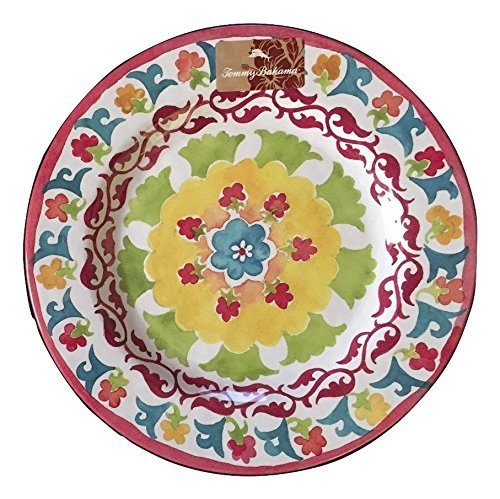 tommy-bahama-floral-design-melamine-dinner-plates-set-of-four-by-tommy-bahama