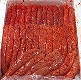 博多食材工房 期間限定奉仕品 国産 一本物 Sサイズ辛子明太子 1kg 067344 国産S