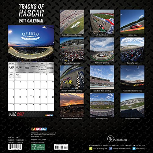 Наскар 2017 календарь