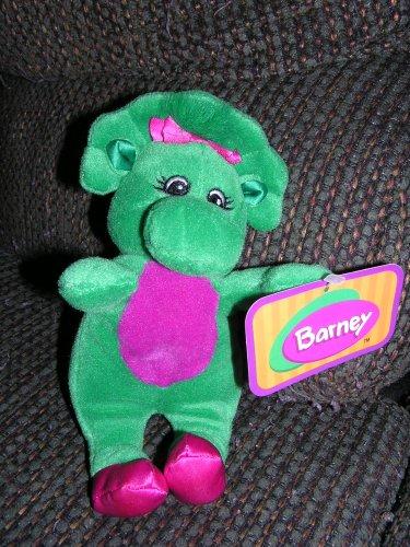 "Plush 8"" Baby Bop Bean Bag Doll From Barney The Dinosaur front-465689"