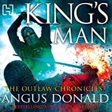 King's Man Audiobook by Angus Donald Narrated by Mike Rogers