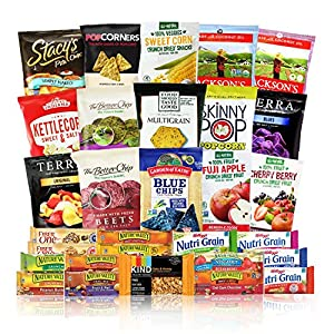 Natural Healthy Snacks Care Package 30 Count