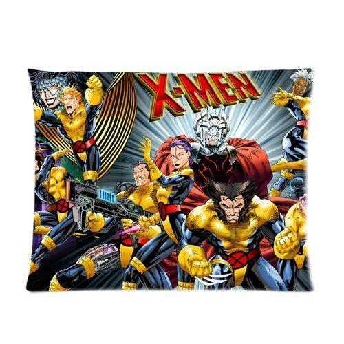 Butuku Personalized Custom Cotton & Polyester Soft Pillow Case Cover 20X26 (One Side)- Anime Comics Cartoon The X-Men Pattern Pillowcase front-706800