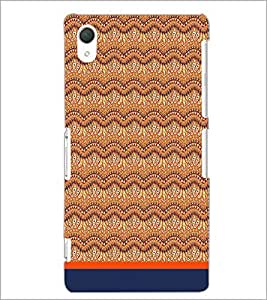 PrintDhaba Pattern D-1748 Back Case Cover for SONY XPERIA Z2 (Multi-Coloured)