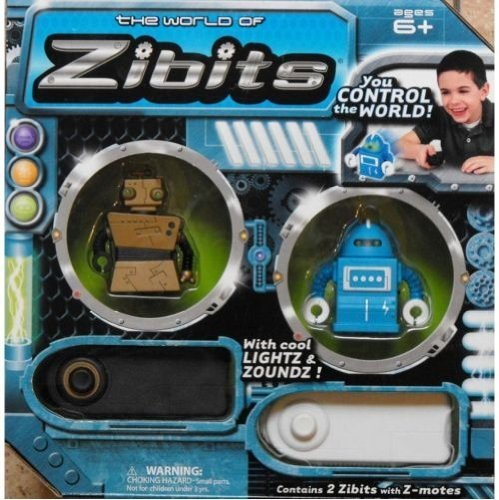 Remote Control Miniature Robots - Zibits Mini