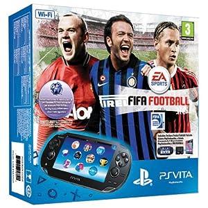 PlayStation Vita (PS Vita) - Console [WiFi] + Memory Card 4 GB + Voucher PSN per FIFA Football [Bundle]
