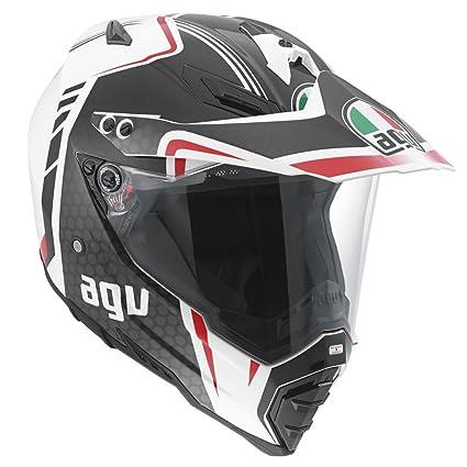 Nouveau AGV 2015 Ax8 Evo double casque de moto Gt blanc/vert/rouge