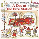 Richard Scarry's A Day At The Fire Station (Turtleback School & Library Binding Edition) (0613838793) by Scarry, Richard
