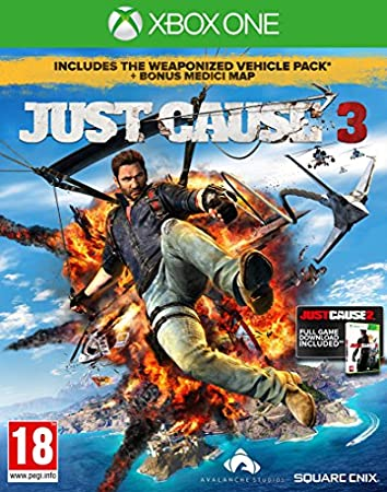 Just Cause 3 Exclusive Edition with Guide to Medici (Xbox One)