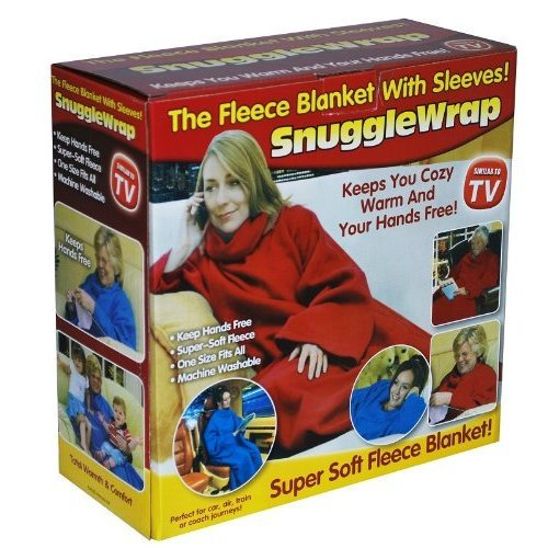 adult-snuggle-wrap-blanket-with-sleeves-red