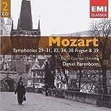 Mozart : Symphonies 29-31, 33, 34, 38 Prague & 39