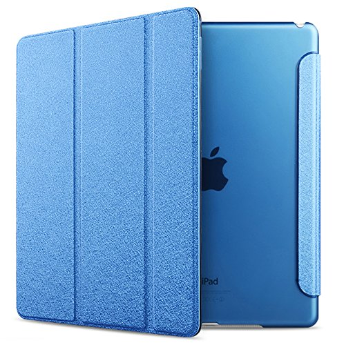 Review iPad Air 2 Case Folio Case Stand Case Smart Cover (royalblue)