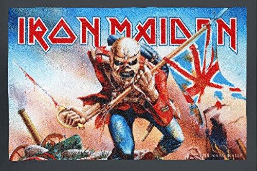 Iron Maiden The Trooper Zerbino standard