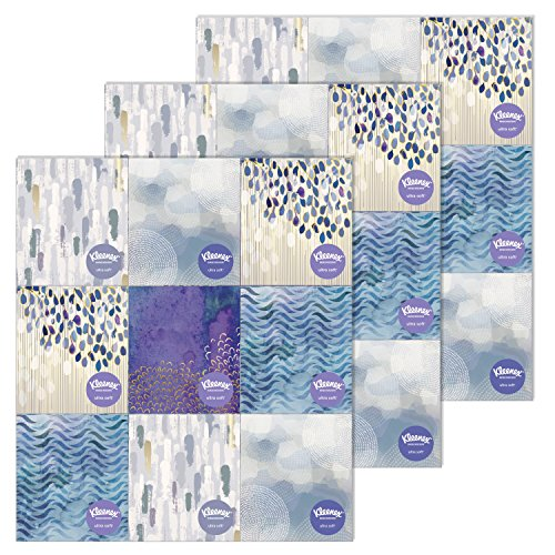 Kleenex Ultra Soft and Strong Facial Tissues, 75 Tissues per Cube Box, 27 Pack (Tissue Box Upright compare prices)