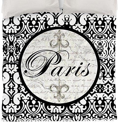 Thumbprintz Duvet Cover, Queen/Full, Paris Circle Damask front-473523