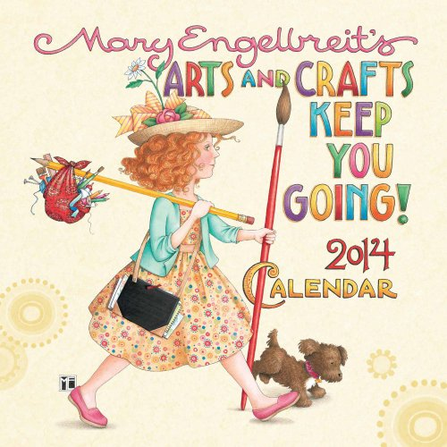 Mary Engelbreit 2014 Mini Wall Calendar: Arts
