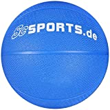 ScSPORTS Medizinball blau 1-6 kg Gymnastikball
