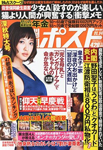 週刊ポスト 2014年 11/14号 [雑誌]