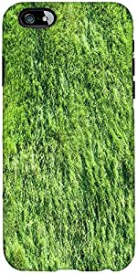 Snoogg Green Grass Texture Photo From Helicopter Designer Protective Back Cas...